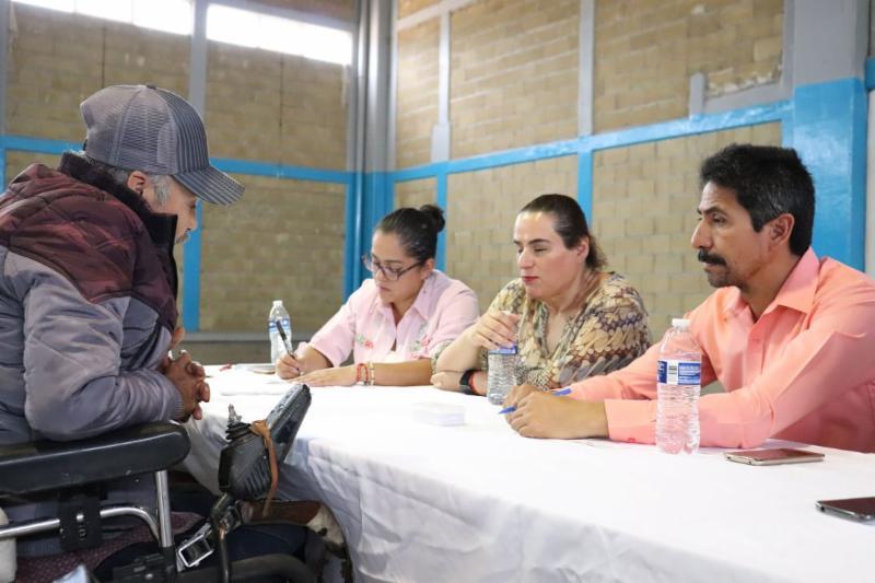 ESCUCHA GOBIERNO DE TELLO A PERSONAS CON DISCAPACIDAD DE JEREZ Y VETAGRANDE