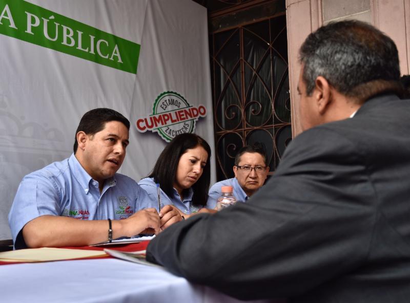 ATIENDE SECRETARIO DE FINANZAS A MÁS DE 150 CONTRIBUYENTES DEL SUR DEL ESTADO EN AUDIENCIA PÚBLICA