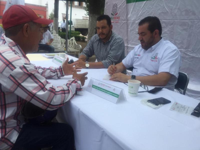 LLEVAN AUDIENCIA PÚBLICA DE SAMA A NOCHISTLÁN