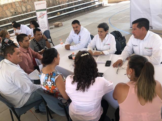 ENCABEZA SECRETARIA DE EDUCACIÓN AUDIENCIA PÚBLICA EN MUNICIPIOS DEL SUR ZACATECANO