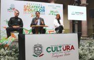 CHINA, POLONIA Y RUMANIA, ENTRE LOS INVITADOS AL FESTIVAL ZACATECAS DEL FOLCLOR INTERNACIONAL 2019