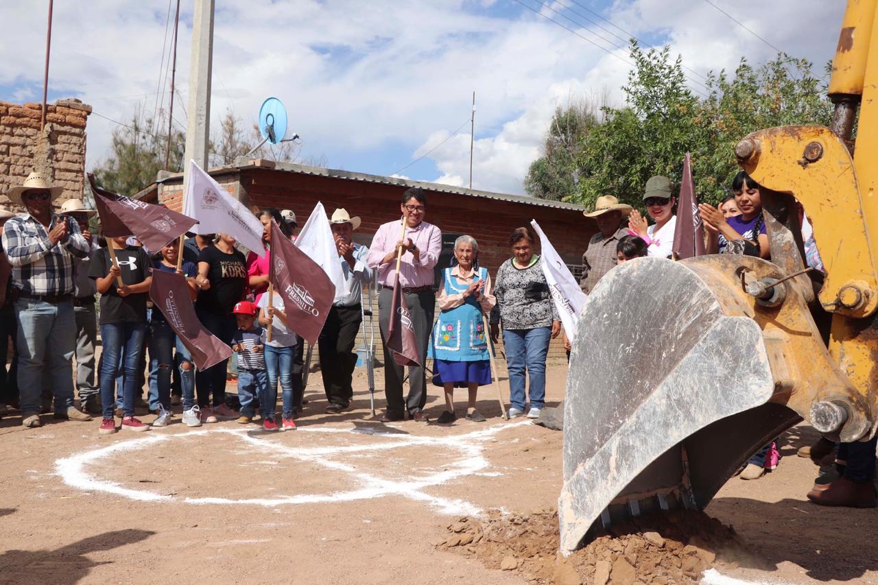 CONSTRUIRÁN REDES DE DRENAJE SANITARIO EN COMUNIDADES DE FRESNILLO