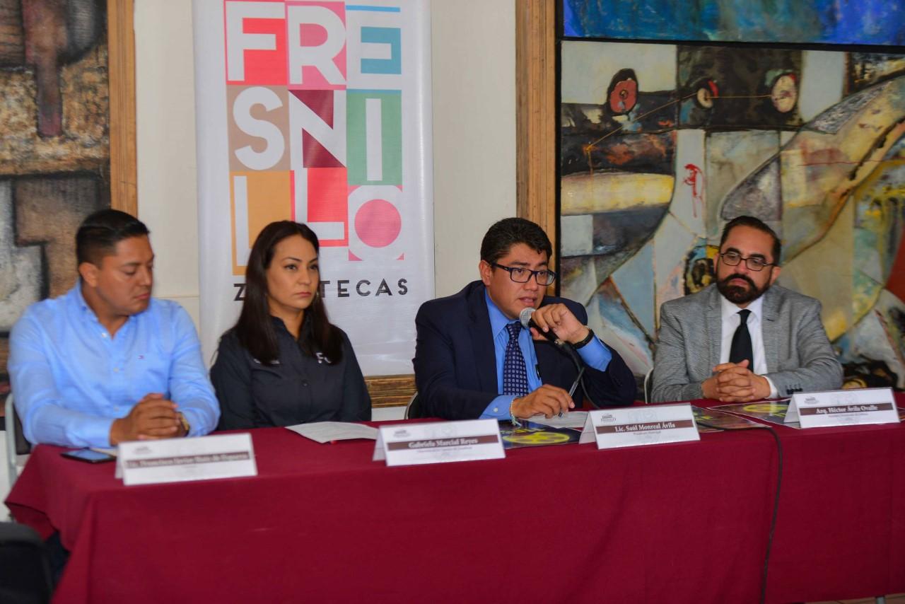 ANUNCIA ALCALDE SAÚL MONREAL ÁVILA, EL 11 FESTIVAL DE CINE EN FRESNILLO