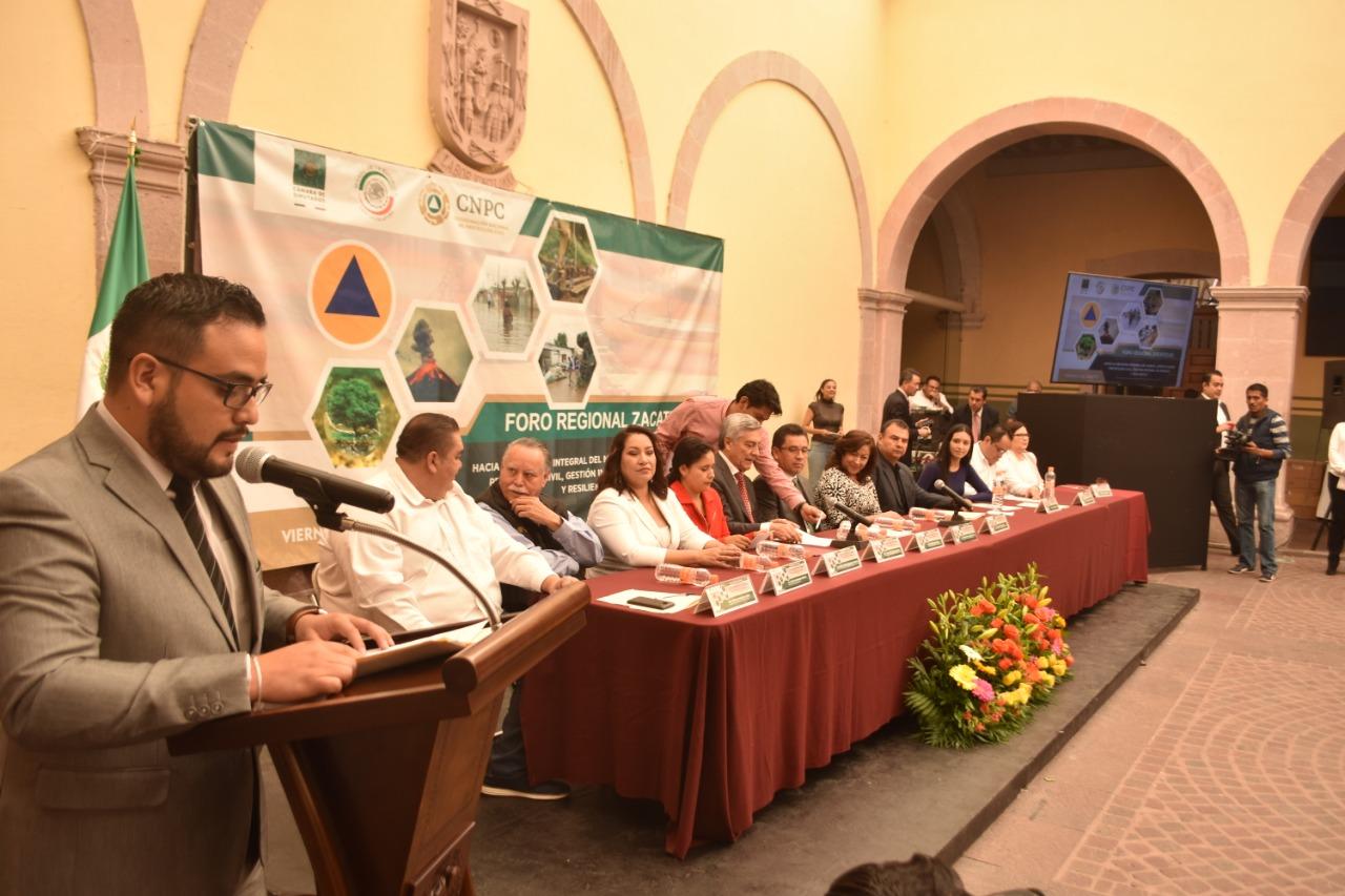 Desarrollan con éxito foro regional de Protección Civil y Gestión de Riesgos
