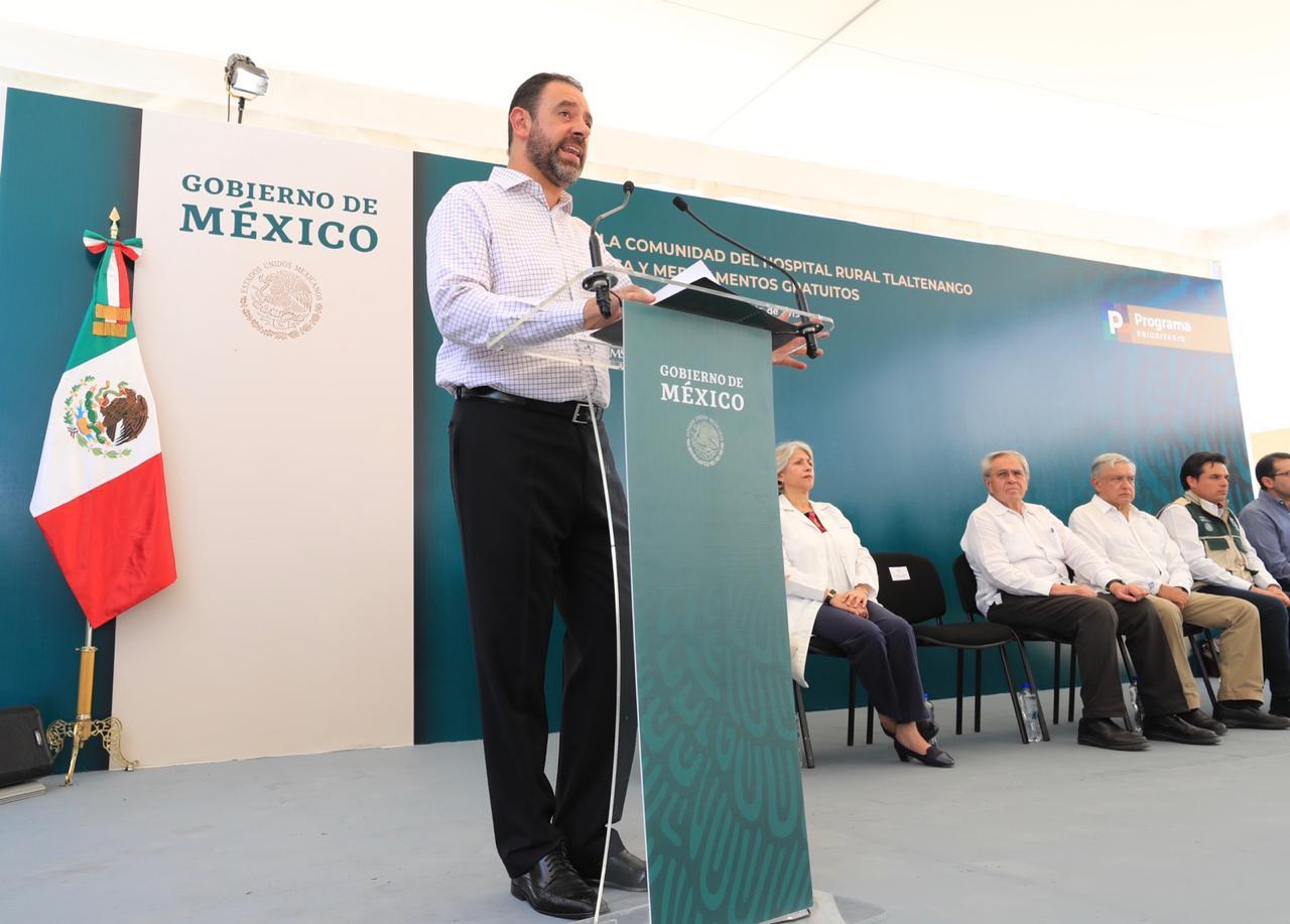 GARANTIZA TELLO EJERCICIO TRANSPARENTE DE RECURSOS FEDERALES PÚBLICOS