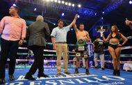 JHONNY GONZÁLEZ SE LLEVA EL TITULO DE FECARBOX PLATA DEL CONSEJO MUNDIAL DEL BOXEO DE LA WBC Y FRESNILLO SE VUELVE LA CAPITAL DEL BOX