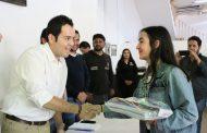 APOYA ULISES MEJÍA HARO A COLABORADORES DE ZACATECAS CON ENTREGA DE ÚTILES ESCOLARES