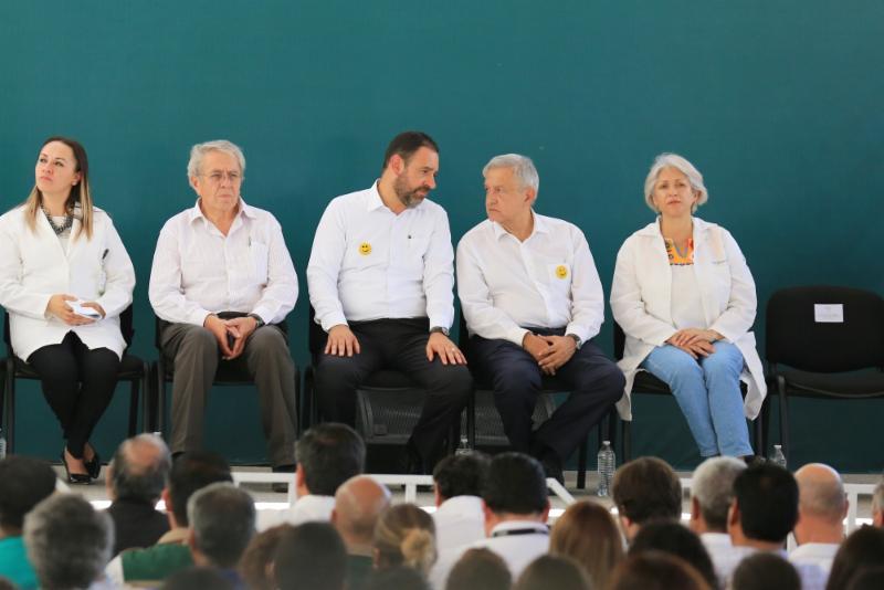 Acuerdan Tello y López Obrador poner en marcha Hospital de la Mujer de Fresnillo