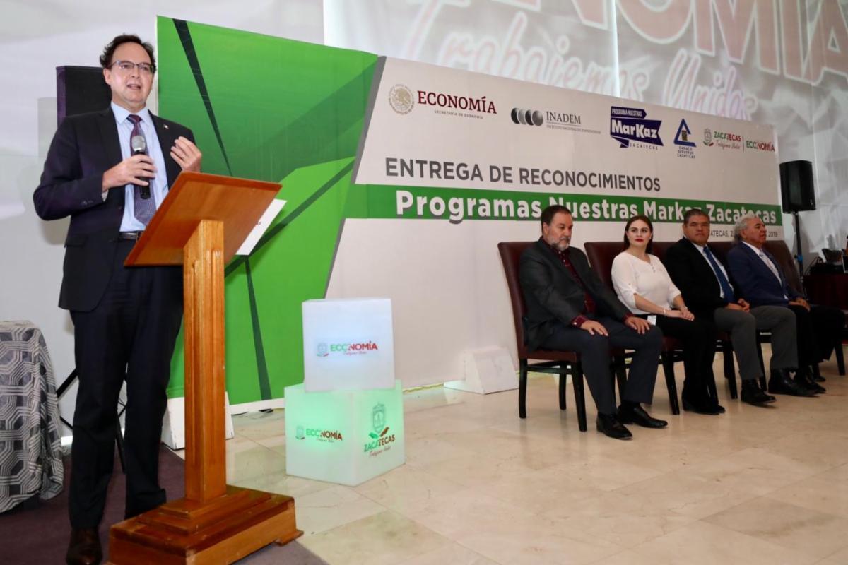 Capacita Secretaría de Economía a 100 empresas zacatecanas para posicionar sus marcas