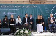 INICIAN GOBERNADOR TELLO Y BEATRIZ GUTIÉRREZ MÜLLER PROGRAMA NACIONAL FANDANGOS POR LA LECTURA EN JEREZ