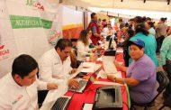 ATIENDE COORDINADOR GENERAL JURÍDICO A 340 PERSONAS DURANTE AUDIENCIA PÚBLICA EN PINOS