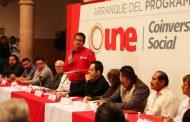 PRESENTA GOBIERNO ESTATAL CONVOCATORIA PARA PROGRAMA UNE COINVERSIÓN SOCIAL