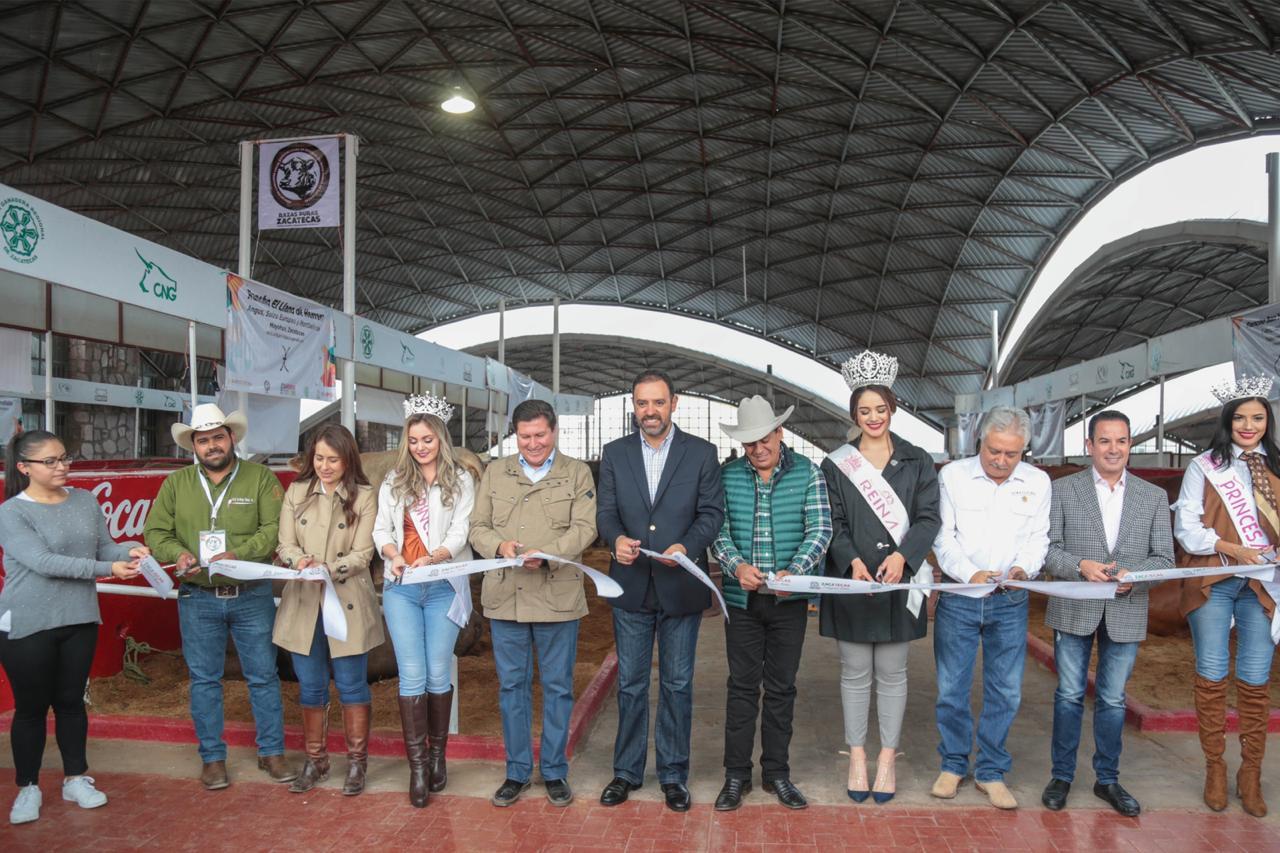 INAUGURA GOBERNADOR FERIA NACIONAL DE ZACATECAS 2019
