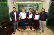 AYUNTAMIENTO DE FRESNILLO FIRMA CONVENIO DE COLABORACIÓN CON COLEGIO DE ARQUITECTOS