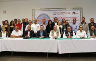 PROPONE ULISES MEJÍA HARO ALIANZA CON LA UAZ PARA ATENCIÓN EN SALUD EN LOS 58 MUNICIPIOS