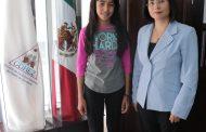 Zacatecana gana del Segundo Concurso Nacional de Niñas y Niños Consejeros de la CNDH