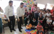 ENTREGA GOBIERNO ESTATAL LUDOTECAS Y EQUIPA BIBLIOTECAS EN TRES MUNICIPIOS