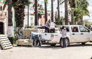 ENTREGA GOBIERNO DEL ESTADO MATERIAL PARA CONSTRUCCIÓN EN GUADALUPE, LORETO Y VILLA HIDALGO