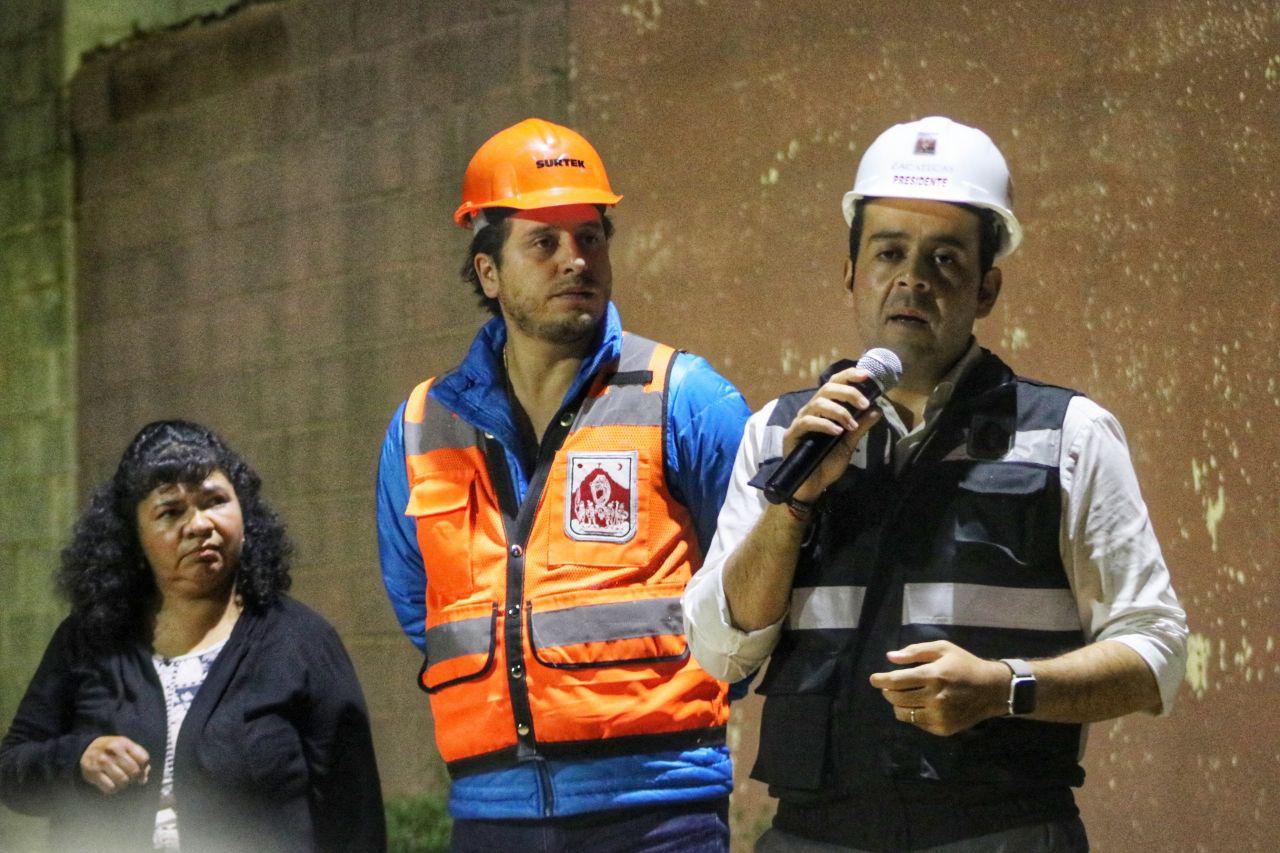 POR UN ZACATECAS SEGURO, LLEVA ULISES MEJÍA HARO RED ELÉCTRICA A FAMILIAS DE EL JARALILLO