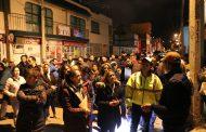 POR UN ZACATECAS SEGURO, ENCABEZA ULISES MEJÍA HARO MARCHA EXPLORATORIA EN FRACCIONAMIENTO LA HERRADURA
