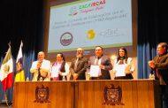 FIRMAN CONVENIO GOBIERNO DE ZACATECAS Y ORGANIZACIÓN MUNDIAL DE SEGURIDAD CIUDADANA