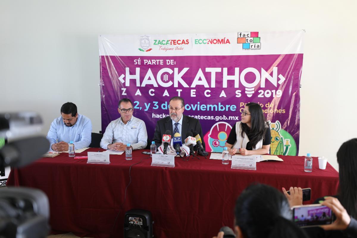 ABRE CONVOCATORIA HACKATHON ZACATECAS 2019