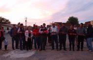 ENTREGA MONREAL ÁVILA REDES DE DRENAJE EN COMUNIDADES