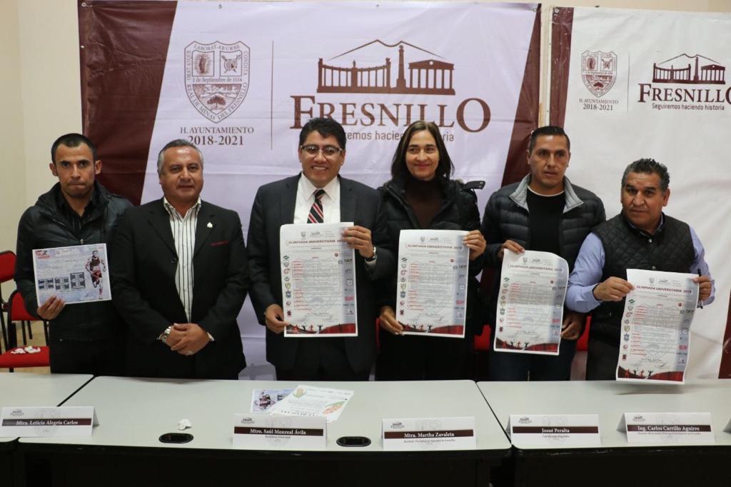 ANUNCIAN LA COMPETENCIA OLIMPIADA UNIVERSITARIA 2019