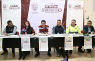 ANUNCIAN EN CONFERENCIA DE PRENSA LA CAMPAÑA NAVIDEÑA DE SEGURIDAD