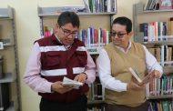 ENTREGAN LIBROS A LA BIBLIOTECA DE LA COMUNIDAD MIGUEL HIDALGO DE OJUELOS