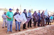 SAÚL MONREAL DA ARRANQUE A LA CONSTRUCCIÓN DE BARDA PERIMETRAL EN ESCUELA DE RANCHO GRANDE