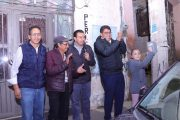 EL PRESIDENTE MUNICIPAL ENCENDIÓ LAS LUMINARIAS DE LA CALLE HEROICO COLEGIO MILITAR