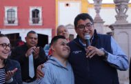 REALIZAN ENTREGA SIMBÓLICA DE LA ANTORCHA DE LOS JUEGOS NACIONALES DE LA INCLUSIÓN