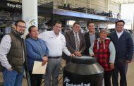 MEDIANTE EL PROGRAMA UNE EQUIPA TU HOGAR, SEDESOL ENTREGA A FAMILIAS FRESNILLENSES 2 MIL 500 TINACOS