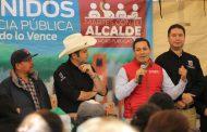 CON TRABAJO COORDINADO, FORTALECEMOS A LAS COMUNIDADES DE LA CAPITAL: ULISES MEJÍA HARO