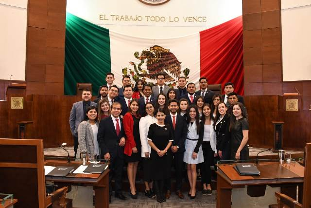 Concluyen las actividades del Sexto Parlamento Joven