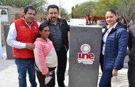 Miguel Torres encabeza entrega de apoyos del programa UNE en Villanueva