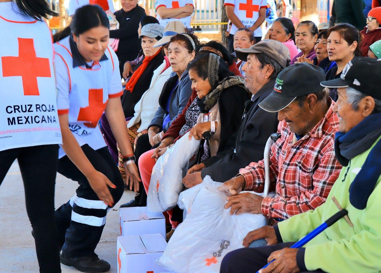 MÁS APOYOS INVERNALES PARA COMUNIDADES EN ZACATECAS CAPITAL