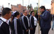"""REALIZAN CONCURSO DE ESCOLTAS """"PROFESOR LUIS ENRIQUE PAVÓN ZUÑIGA"""" EN LA EXPLANADA DE LA PRESIDENCIA"""