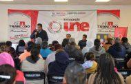 RECIBEN FAMILIAS DE TRANCOSO CASI 800 MIL PESOS EN BENEFICIOS SOCIALES