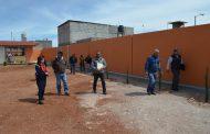 Entregan Barda Perimetral en la Primaria Lázaro Cárdenas del Río en Fresnillo