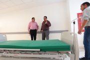 EL ALCALDE, SAÚL MONREAL VERIFICA Y COADYUVA EN LA APERTURA DEL HOSPITAL DE LA MUJER ANTE LA CONTINGENCIA SANITARIA