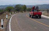REHABILITA GOBIERNO ESTATAL MÁS DE 64 KILÓMETROS DE CAMINOS RURALES EN TEPECHITLÁN