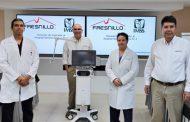 Fresnillo plc dona respirador de última generación a Hospital General de Zona N. 2 del IMSS para atender a pacientes con COVID-19