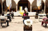 Entregan apoyos a 50 personas en Villanueva con el Programa Empleo Temporal