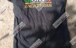 DETIENEN A 2 CON ARSENAL : PORTAN LEYENDA DE ZACATECAS