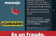Gobierno de México trabaja para desarticular redes que engañan a la ciudadanía con falsos apoyos sociales