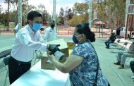 Realizan la octava entrega de apoyos a familias Villanovenses