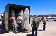 Zacatecas recibe 50 camas para atención hospitalaria por el Covid-19