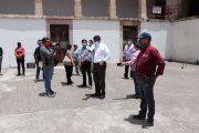 SAÚL MONREAL RECONOCE EL TRABAJO DEL DEPARTAMENTO DE SANIDAD Y LOS MAS DE 60 TRABAJADORES INVOLUCRADOS